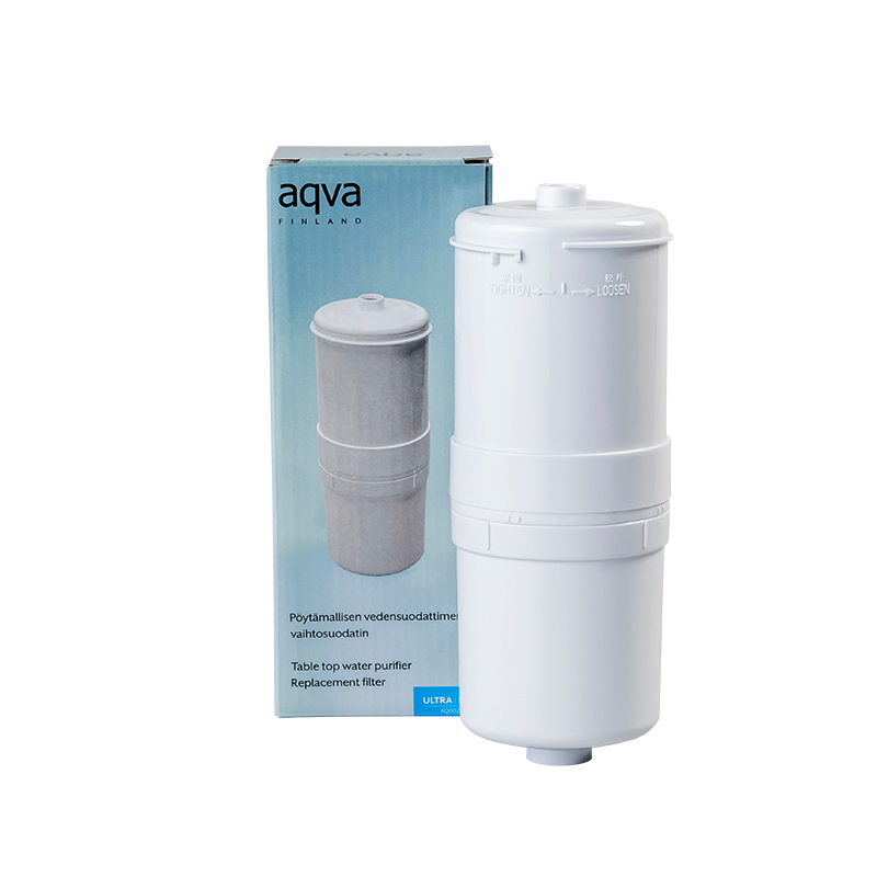 Replacement filter for AQVA counter top purifier, Ultra +